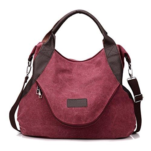 Toile Messenger 4 bandoulière Sac Unique Retro Feng Diagonale Guo Grande Bags à Bag épaule capacité Paquet Lady 6RTwxft
