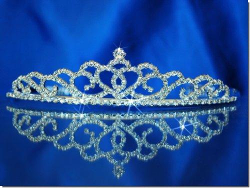 (Rhinestones Crystal Wedding Bridal Prom Pageant Princess Tiara Crown)