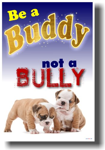 Be a Buddy Not a Bully - Classroom Anti-bullying Poster