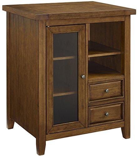 (Crosley Furniture Sienna Accent Cabinet - Moroccan Pine)
