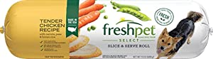 Freshpet Freshpet Select Tender Chicken Recipe With Carrots, Peas, & Brown Rice for Dogs,, 6 Lb (pack Of 4)