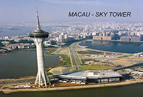 China Chinese Fridge Refrigerator Magnets (1 Piece, Macau Sky Tower – C3) - Macau China
