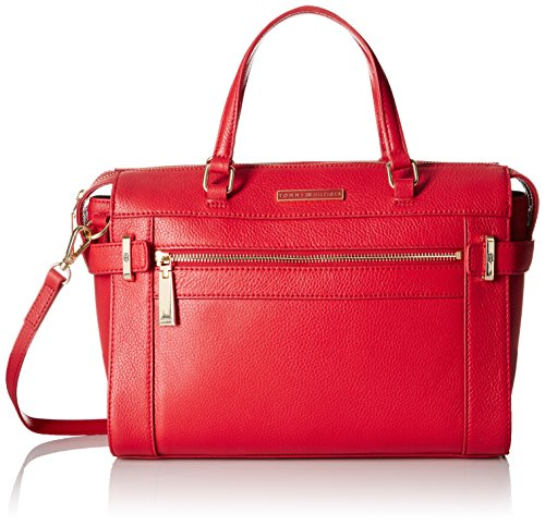Tommy Hilfiger Satchel for Women Savanna, Racing Red by Tommy Hilfiger