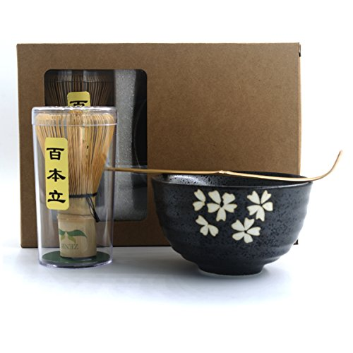 Find Cheap Complete Start Up Matcha Tea Kit - Retro Japanese Natural Bamboo Matcha Whisk ( Chasen ) ...