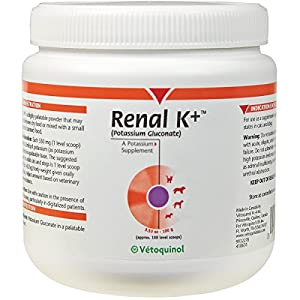 renal k powder potassium supplement for dogs and cats 100 g pet supplies. Black Bedroom Furniture Sets. Home Design Ideas