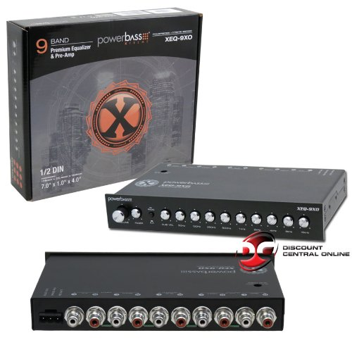 - Powerbass Car Audio Eq Sound Processor 9-band Equalizer Pre-amp