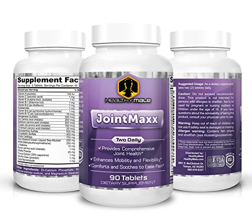 Cheap JointMaxx – Complete Glucosamine, Chondroitin and Vitamin Formulation Supports Joint Flexibility and Mobility. Yucca Extract, Alfalfa Powder, Devils Claw.