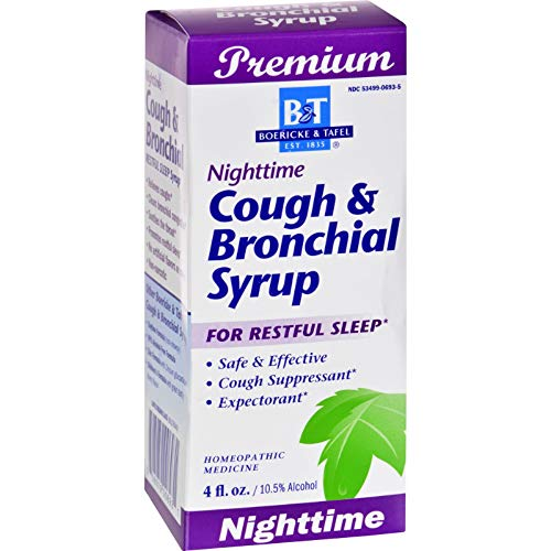 Natures Way B&T Syrup Cough N Bronc Night