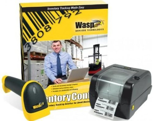 Wasp 633808920647 Inventory Control Standard Kit - Software/Scanner/Printer (Certified (Wasp Inventory Control)