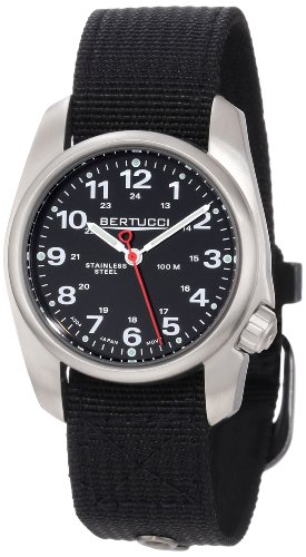 Bertucci Men's 10004 A-1S Durable Stainless Steel Field Watch