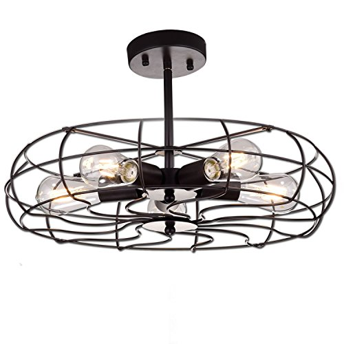 YOBO Lighting Oil Rubbed Bronze Vintage  - Art Deco Bronze Chandelier Shopping Results