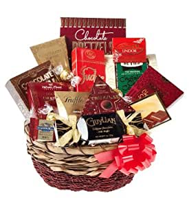 Ultimate chocolate lover gift chocolate basket amazon chocolate gifts negle Images