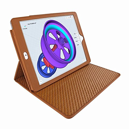 Piel Frama 789 Tan Cinema Magnetic Leather Case for Apple iPad Pro 12.9'' (2017) by Piel Frama