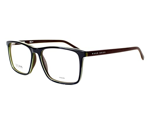 46d0d4904d6 Image Unavailable. Image not available for. Color  Optical frame Hugo Boss  Acetate ...