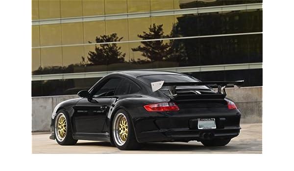 Amazon.com: Porsche 911 GT3 RS Black Left Rear on BBS Wheels HD Poster 18 X 12 Inch Print: Posters & Prints