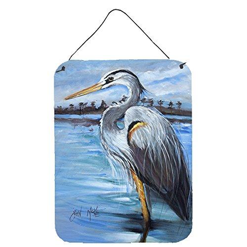 - Caroline's Treasures Blue Heron Gazing Wall or Door Hanging Prints, 16