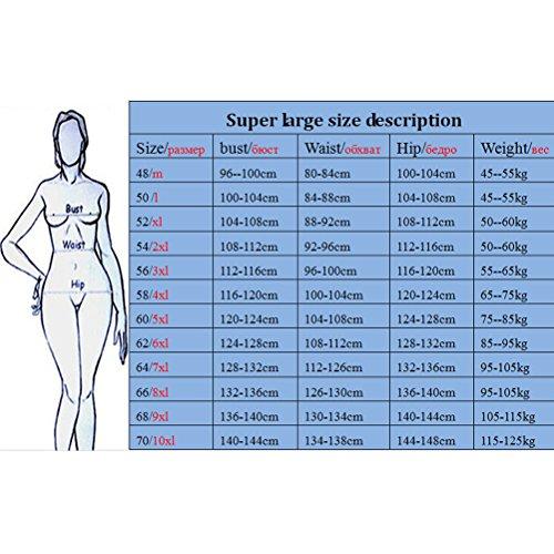 Zhhlaixing Classic Women Beach Elastic Swimdress Two-piece Plus Size Swimwear Swimsuit Azure
