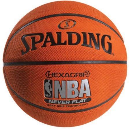 Spalding NBA Neverflat Hexagrip Soft Grip, 28.5