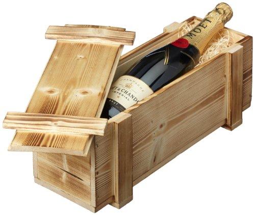 Moët & Chandon Brut Impérial Pinot Noir Brut in Holzkiste DGN geflammt (1 x 0.75 l)