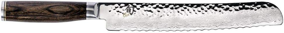 """Shun Cutlery Premier 9"""" Bread Knife;"""