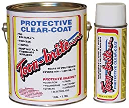 Toon-Brite Protective Clear-Coat, one-gallon can