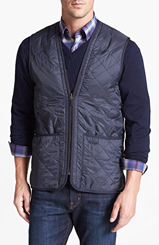 Barbour Polar Quilt Vest (XXL, NAVY)