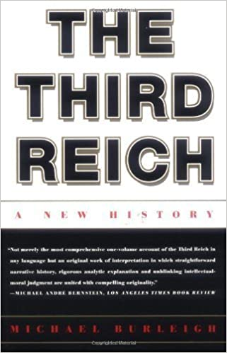 Book The Third Reich: A New History F 1st edition by Burleigh, Michael (2001)