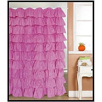 Amazon.com: Lorraine Home Fashions Gypsy Shower Curtain, 70-Inch by ...