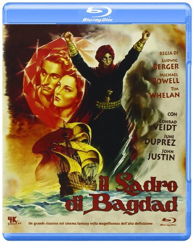 The Thief of Bagdad [ Blu-Ray, Reg.A/B/C Import - Italy ]