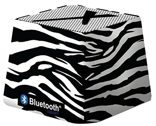 (Xit Audio Bluetooth Wireless Mini Portable Speaker System for iPods, iPhones, iPads, Androids, and MP3 Players (Zebra))