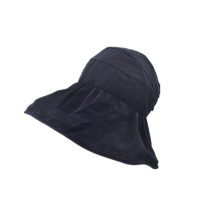 Wide Brim Beach Sun Visor Hat Cap Foldable Floppy Sun Hat Visor Open Top Cap  for 44daee5116c