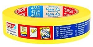 Tesa - Cinta para acabados de precisión (25 mm x 50 m, para uso interior, duración de 5 meses sin residuos)