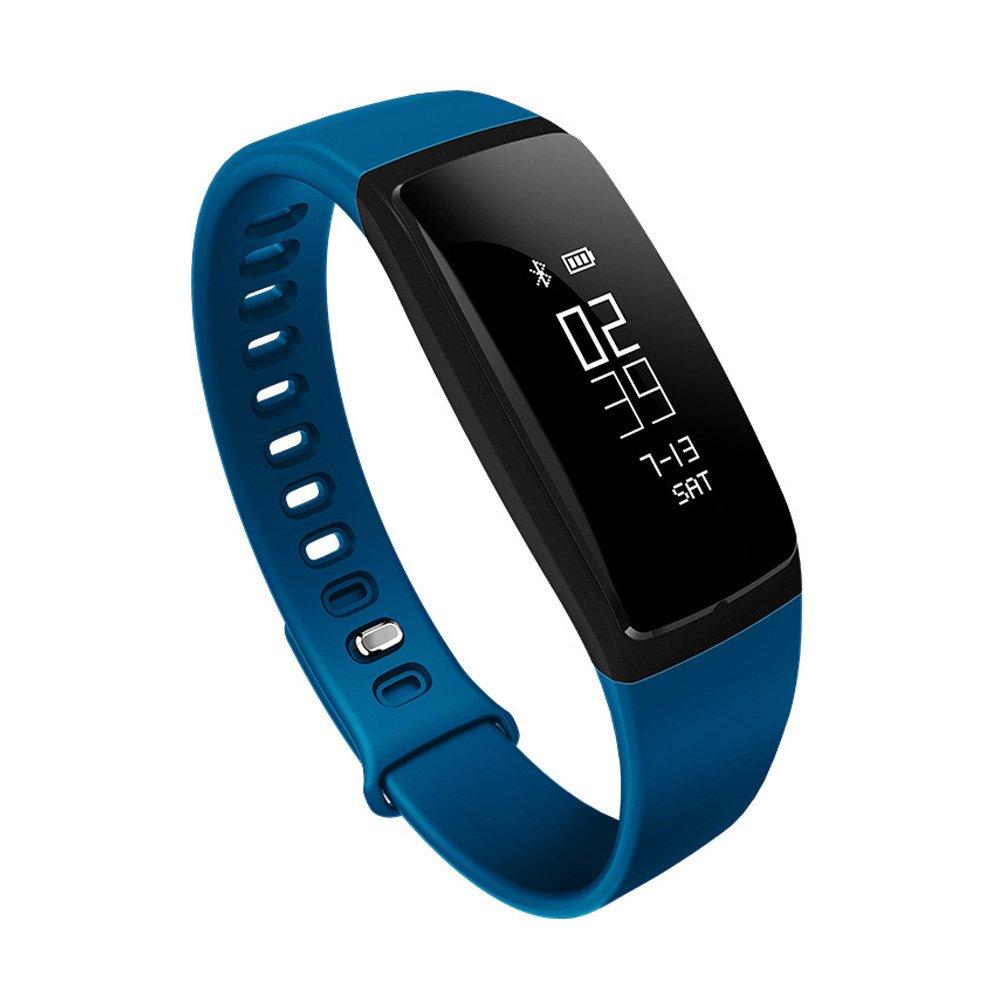 Reloj inteligente de seguimiento de frecuencia cardíaca - podómetro, contador de pasos, calorías, salud, presión arterial, monitor de sueño, ...