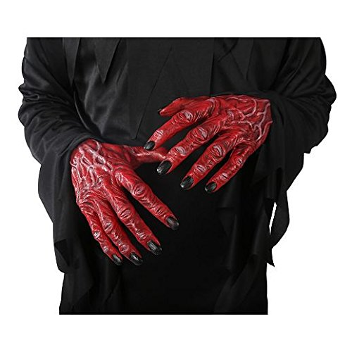 Gloves Costume Accessory Hand Accessories Halloween Devil Hands