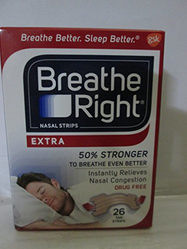 Breathe Right Nasal Strips 26 Count product image