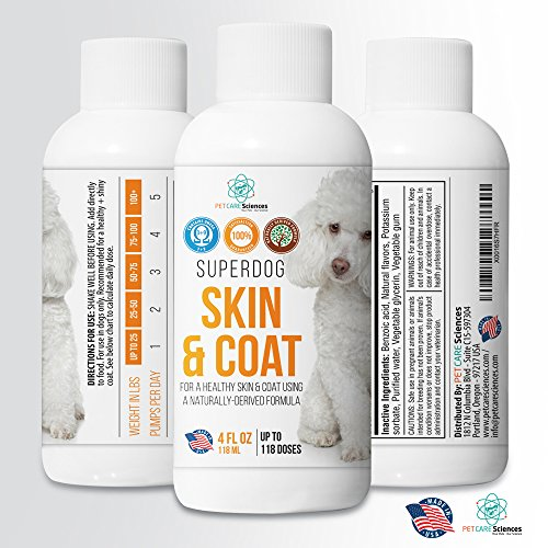Best skin and coat formula for dogs omega 3 omega 9 fish for Fish oil for dogs skin