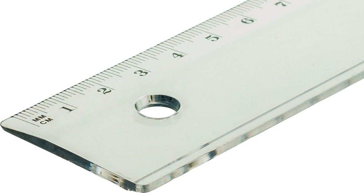 17/cm TSI 46017/righello trasparente