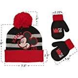 Disney Toddler Boys Mickey Mouse Hat and Mittens