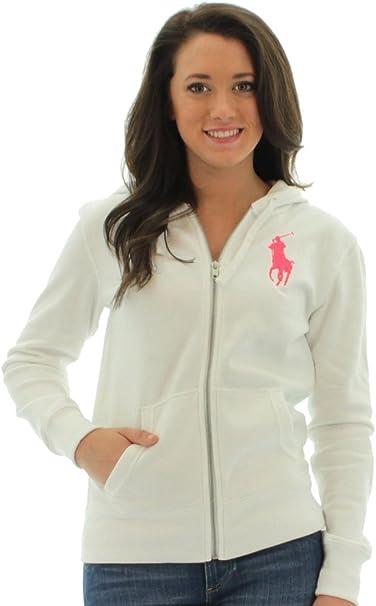 Ralph Lauren mujer sudadera con Big Pony – Logo sudadera con ...
