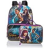 Disney Girls' Descendants Backpack with Lunch Window Pocket, Multi
