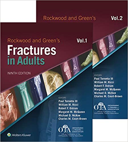 Rockwood and Green's Fractures in Adults, 9th Edition