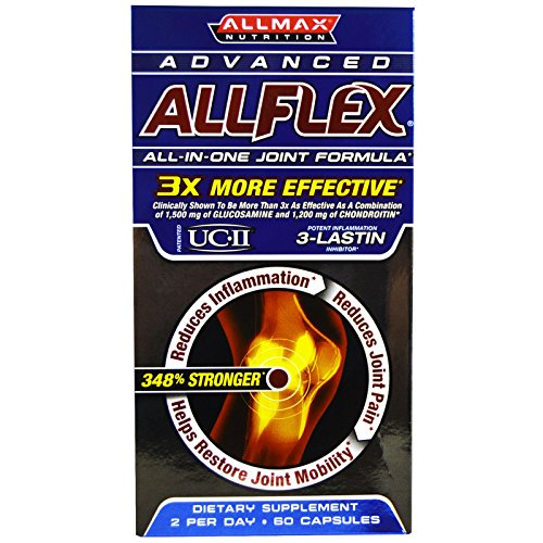 ALLMAX Nutrition, Advanced AllFlex, All-In-One Joint Formula, 60 Capsules - 2pc ()