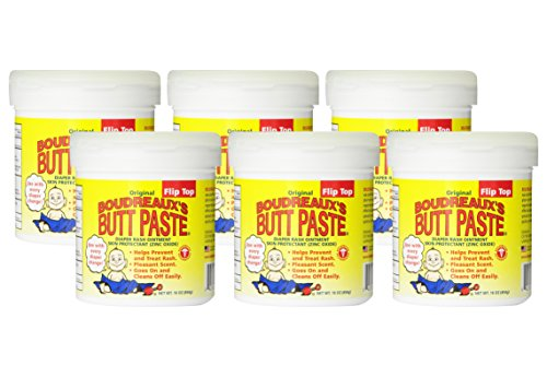Boudreaux's Butt Paste 16 oz. Jar (Pack of 6) by Boudreaux's