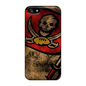 Durable Cases For The Iphone 5/5s- Eco-friendly Retail Packaging(tampa Bay Buccaneers)