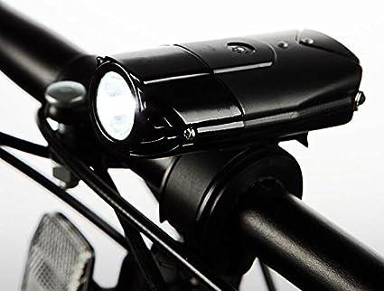 Rechargeable Bicycle HeadLight Bike Helmet Front Light 2 LED MTB Lamp Waterproof