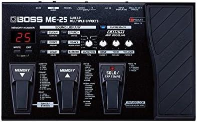 Pedalera multiefectos Boss ME-25: Amazon.es: Instrumentos musicales