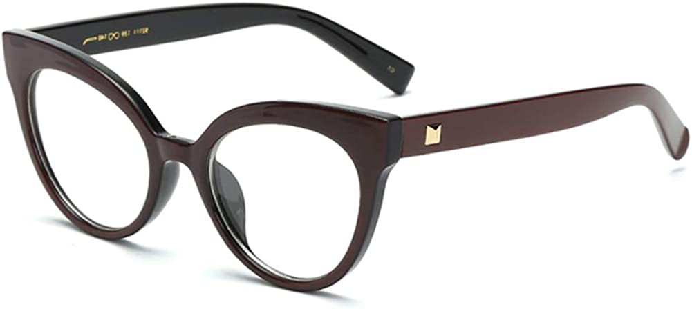 Cat Eye Eyeglasses For Women Optical Glasses Frame Retro Female Accessories