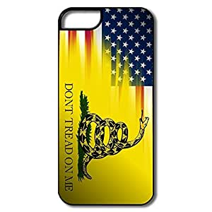 Alice7 Gadsden Flag Case For Iphone 5,Cute Iphone 5 Case by lolosakes
