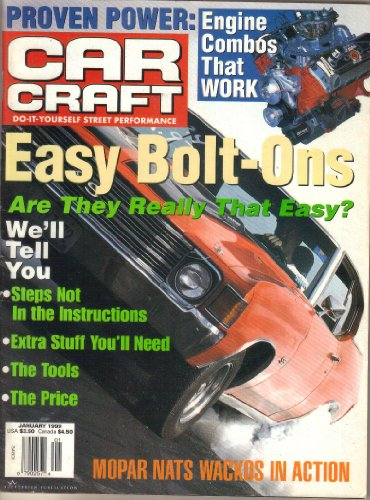 Car Craft Magazine Drag Racing - 8