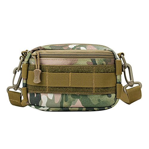 broadroot Unisex kleine Umhängetasche Riding Outdoor Camping Wandern Sport Taille Pack Italy Camouflage 3KS8c1c